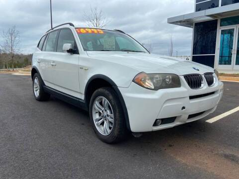 2006 BMW X3 for sale at ELAN AUTOMOTIVE GROUP in Buford GA