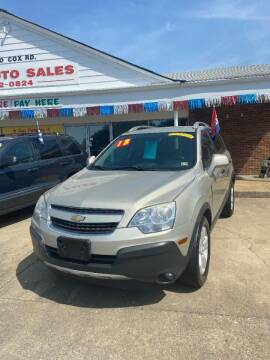 2013 Chevrolet Captiva Sport for sale at Top Auto Sales in Petersburg VA