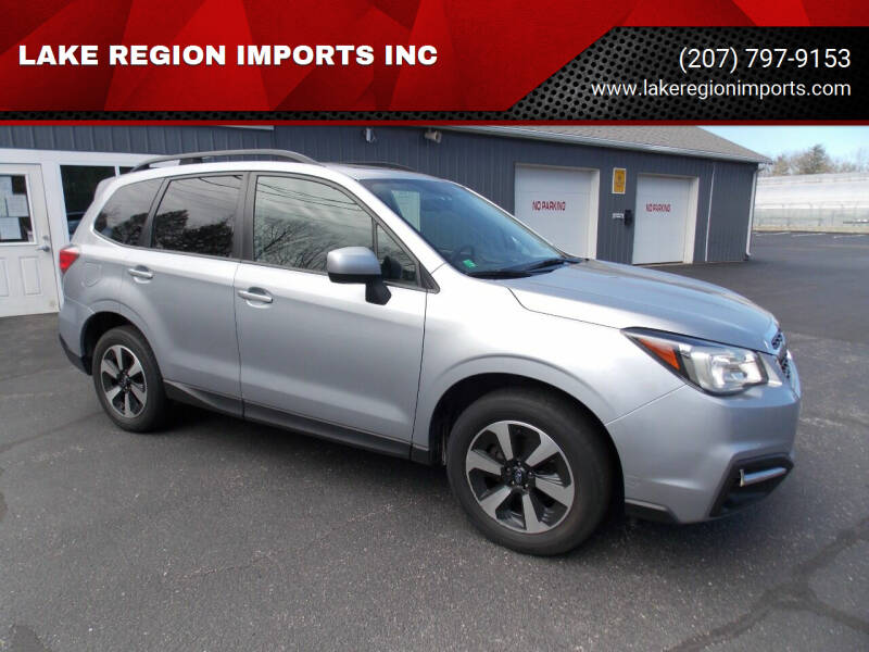 2017 Subaru Forester for sale at LAKE REGION IMPORTS INC in Westbrook ME