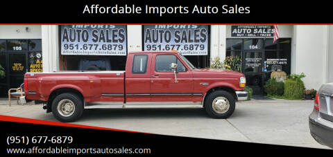 1992 Ford F-350 for sale at Affordable Imports Auto Sales in Murrieta CA