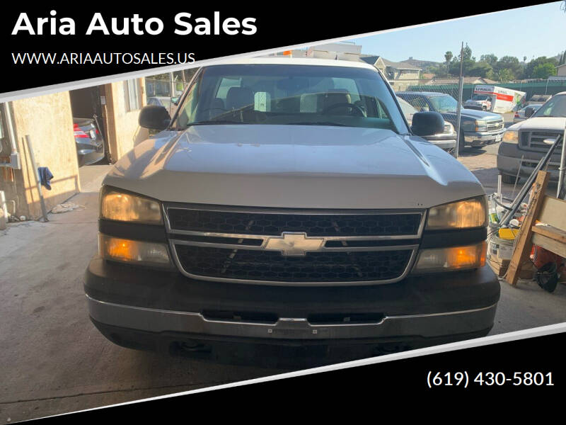2007 Chevrolet Silverado 1500 Classic for sale at Aria Auto Sales in El Cajon CA