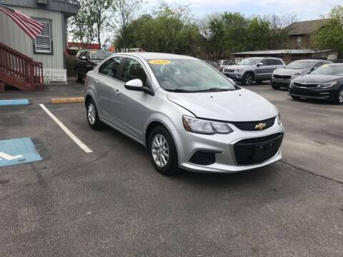 2020 Chevrolet Sonic for sale at Auto Solution in San Antonio TX