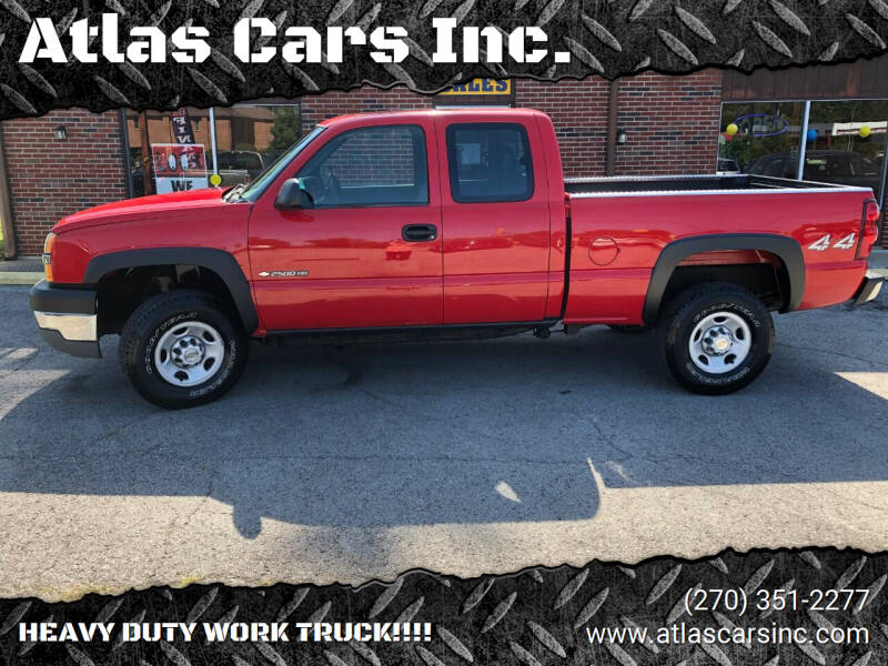2003 Chevrolet Silverado 2500HD for sale at Atlas Cars Inc. in Radcliff KY
