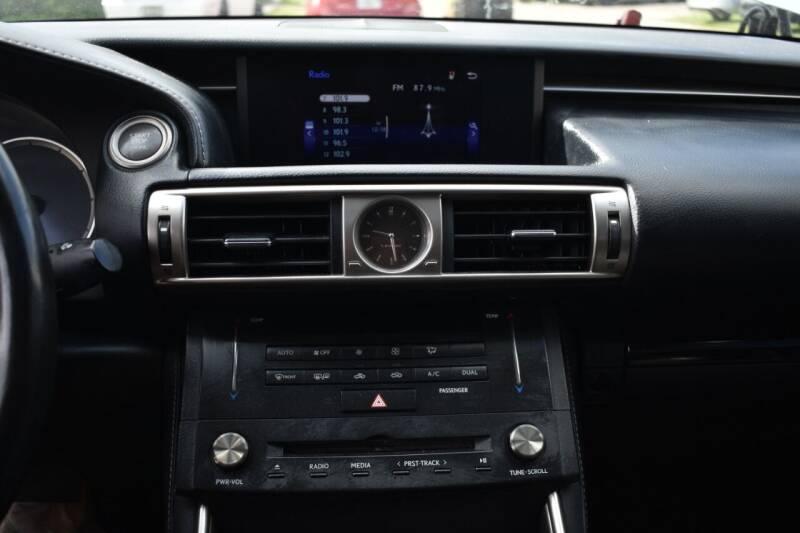 2016 Lexus IS 200t 4dr Sedan - Miami FL