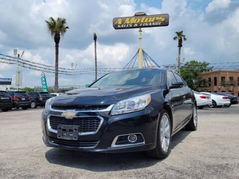 2016 Chevrolet Malibu Limited for sale at A MOTORS SALES AND FINANCE - 6226 San Pedro Lot in San Antonio TX