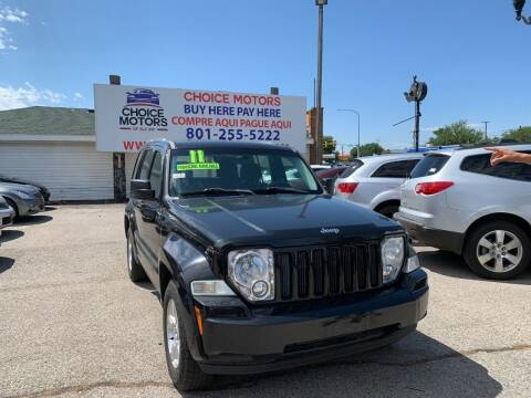 2011 Jeep Liberty for sale at Choice Motors of Salt Lake City in West Valley  City UT