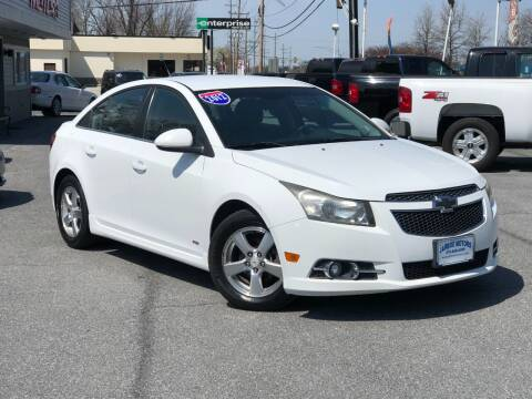 2012 Chevrolet Cruze for sale at Jarboe Motors in Westminster MD