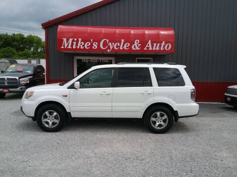 2007 Honda Pilot for sale at MIKE'S CYCLE & AUTO in Connersville IN