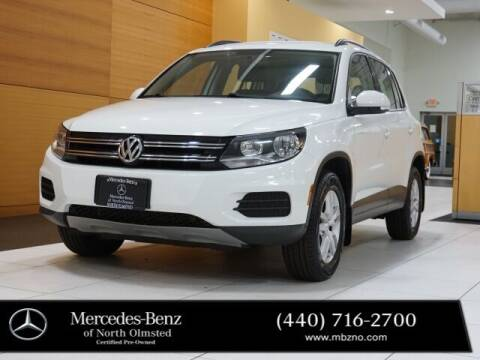 2015 Volkswagen Tiguan for sale at Mercedes-Benz of North Olmsted in North Olmstead OH