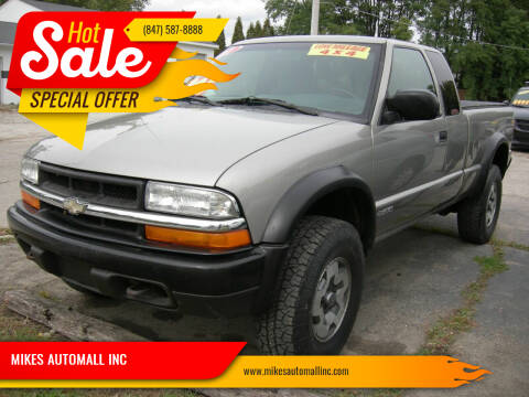 2001 Chevrolet S-10 for sale at MIKES AUTOMALL INC in Ingleside IL