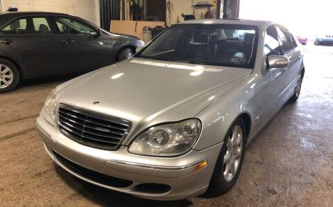 2003 Mercedes-Benz S-Class for sale at Six Brothers Auto Sales in Youngstown OH
