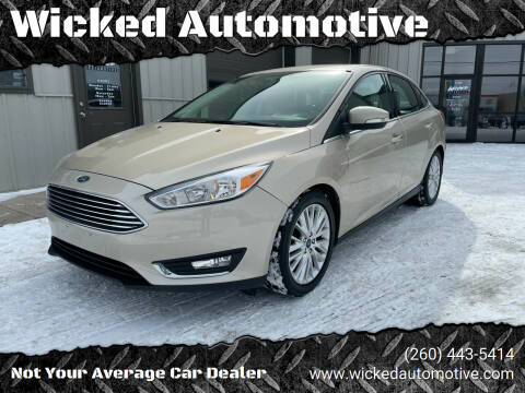 2017 Ford Focus for sale at Wicked Automotive in Fort Wayne IN