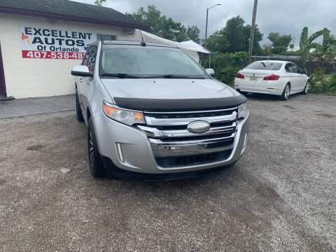2011 Ford Edge for sale at Excellent Autos of Orlando in Orlando FL