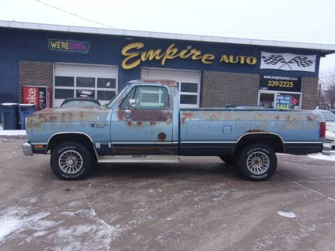 1988 Dodge RAM 100 for sale at Empire Auto Sales in Sioux Falls SD