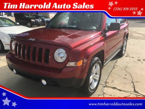 2012 Jeep Patriot for sale at Tim Harrold Auto Sales in Wilkesboro NC