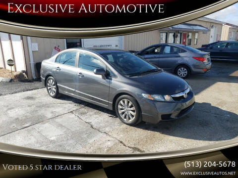 2010 Honda Civic for sale at Exclusive Automotive in West Chester OH