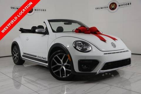 2017 Volkswagen Beetle Convertible for sale at INDY'S UNLIMITED MOTORS - UNLIMITED MOTORS in Westfield IN
