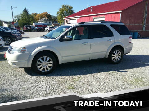 2009 Ford Taurus X for sale at MIKE'S CYCLE & AUTO in Connersville IN