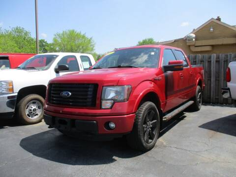 2012 Ford F-150 for sale at SPRINGFIELD AUTO SALES in Springfield WI