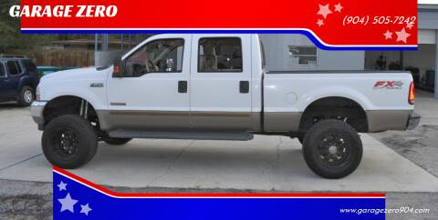 2003 Ford F-250 Super Duty for sale at GARAGE ZERO in Jacksonville FL