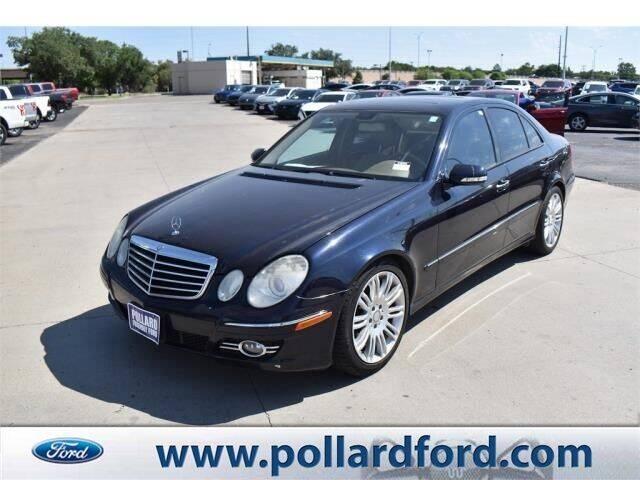2008 Mercedes-Benz E-Class for sale at South Plains Autoplex by RANDY BUCHANAN in Lubbock TX