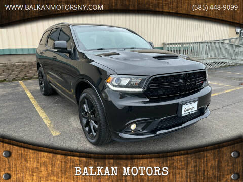 2018 Dodge Durango for sale at BALKAN MOTORS in East Rochester NY