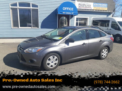 2014 Ford Focus for sale at Pre-Owned Auto Sales Inc in Salem MA