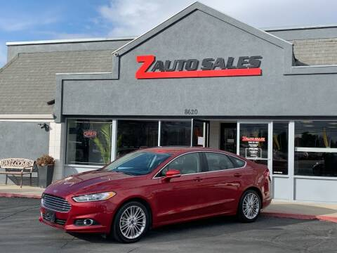 2016 Ford Fusion for sale at Z Auto Sales in Boise ID