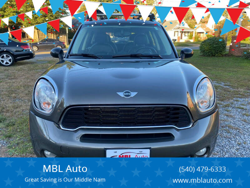 2011 MINI Cooper Countryman for sale at MBL Auto Woodford in Woodford VA