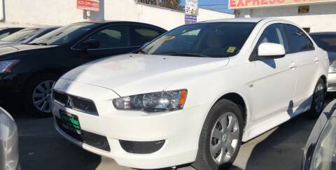 2014 Mitsubishi Lancer for sale at Express Auto Sales in Los Angeles CA