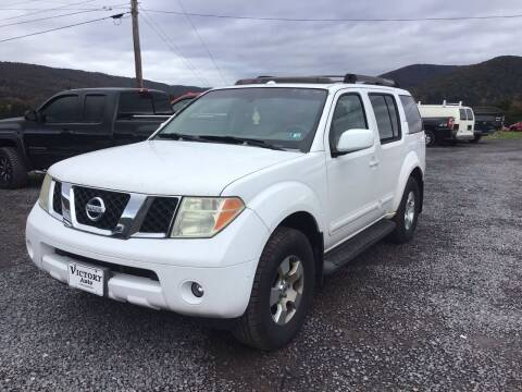 2006 Nissan Pathfinder for sale at Troys Auto Sales in Dornsife PA