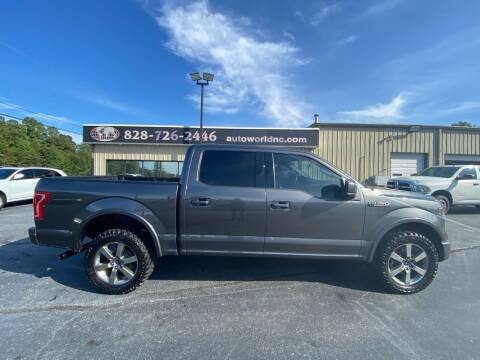 2017 Ford F-150 for sale at AutoWorld of Lenoir in Lenoir NC