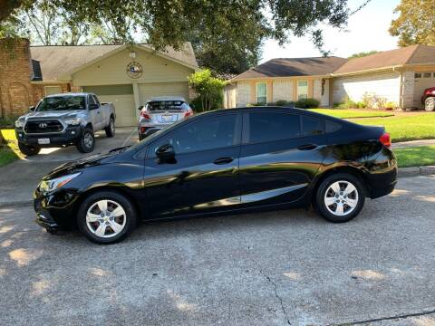 2018 Chevrolet Cruze for sale at Demetry Automotive in Houston TX