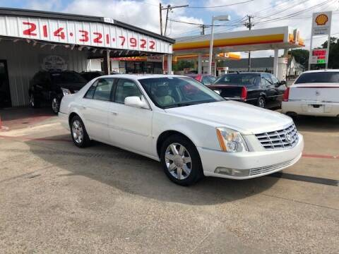 2006 Cadillac DTS for sale at East Dallas Automotive in Dallas TX