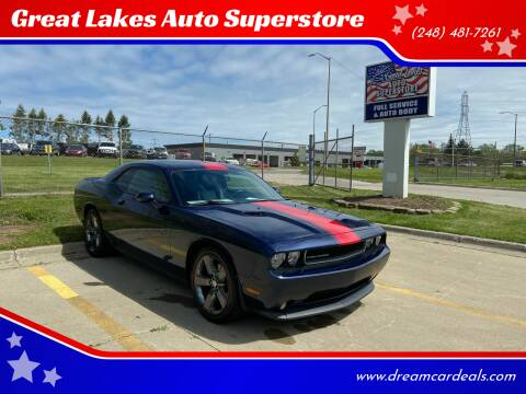 2013 Dodge Challenger for sale at Great Lakes Auto Superstore in Waterford Township MI