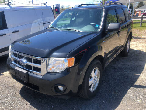 2008 Ford Escape for sale at AUTO OUTLET in Taunton MA