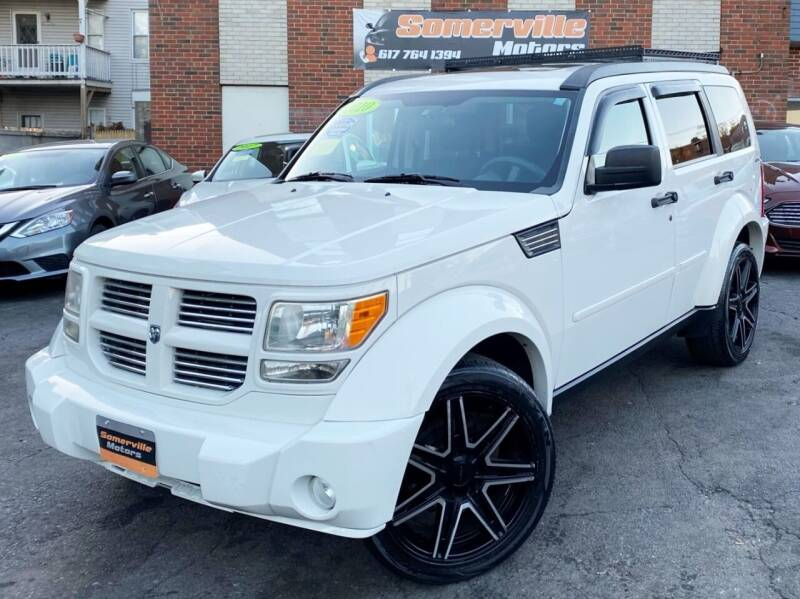 2010 Dodge Nitro for sale at Somerville Motors in Somerville MA