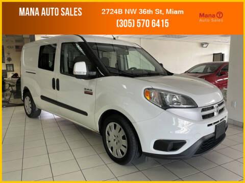 2017 RAM ProMaster City Wagon for sale at MANA AUTO SALES in Miami FL
