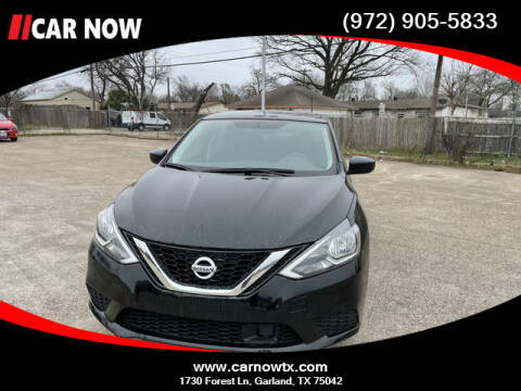 2019 Nissan Sentra for sale at Car Now Dallas in Dallas TX