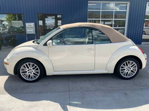2007 Volkswagen New Beetle Convertible for sale at Twin City Motors in Grand Forks ND