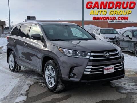 2019 Toyota Highlander for sale at Gandrud Dodge in Green Bay WI