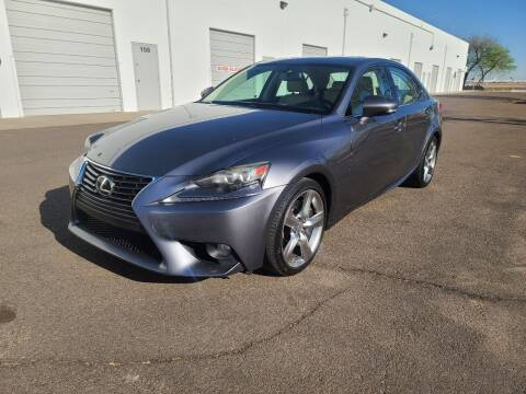 2014 Lexus IS 350 for sale at NEW UNION FLEET SERVICES LLC in Goodyear AZ
