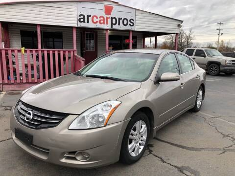 2012 Nissan Altima for sale at Arkansas Car Pros in Cabot AR