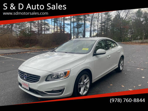 2014 Volvo S60 for sale at S & D Auto Sales in Maynard MA
