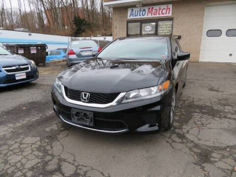 2014 Honda Accord for sale at Auto Match in Waterbury CT