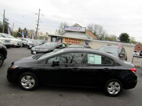 2013 Honda Civic for sale at American Auto Group Now in Maple Shade NJ