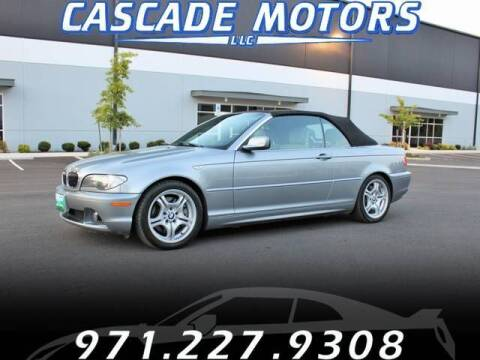 2006 BMW 3 Series for sale at Cascade Motors in Portland OR
