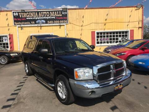 2005 Dodge Dakota for sale at Virginia Auto Mall in Woodford VA