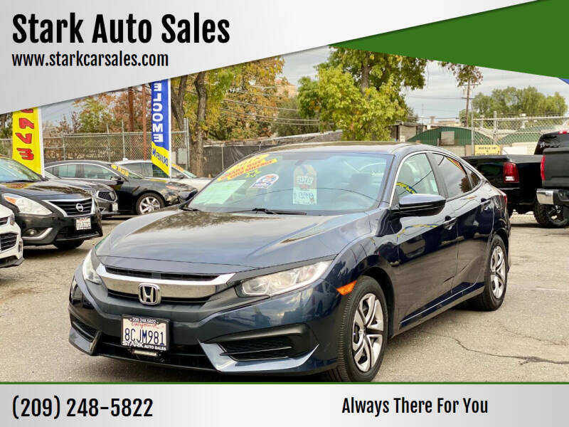 2018 Honda Civic for sale at Stark Auto Sales in Modesto CA
