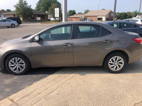 2018 Toyota Corolla for sale at Tonys Car Sales in Richmond IN